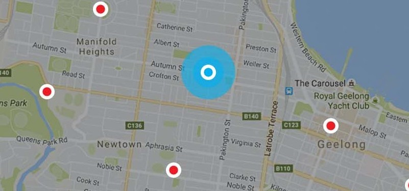 Geelong West Painters Location Map